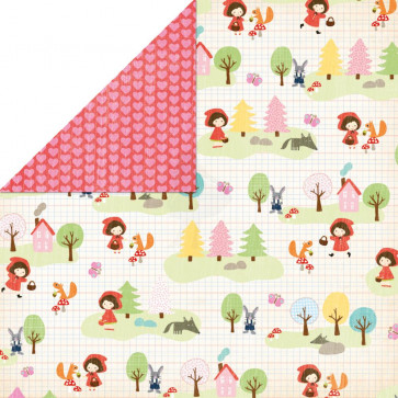 """Grace Taylor Playtime Paper 12x12"""" -  Little Miss Red"""
