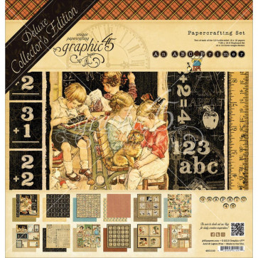"Graphic 45 Deluxe Collector's Edition Pack 12x12"" - ABC Primer"
