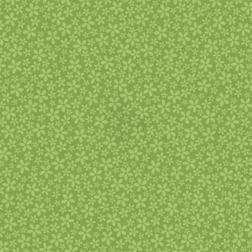 """Core'dinations Core Basics Patterned Cardstock 12x12"""" - Light Green Flower"""