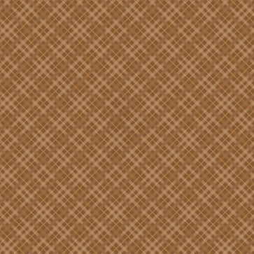 """Core'dinations Core Basics Patterned Cardstock 12x12"""" - Brown Plaid"""