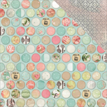 "BoBunny Soiree Double-Sided Cardstock 12x12"" - Wonderful"