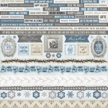 """KaiserCraft Frosted Cardstock Stickers 12x12"""""""