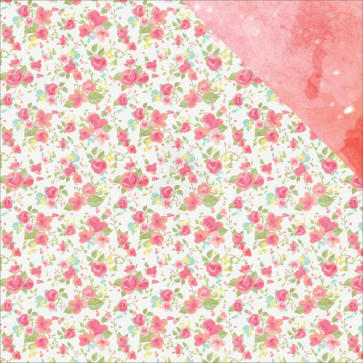 """KaiserCraft Party Time Double-Sided Cardstock 12x12"""" Cotton Candy"""
