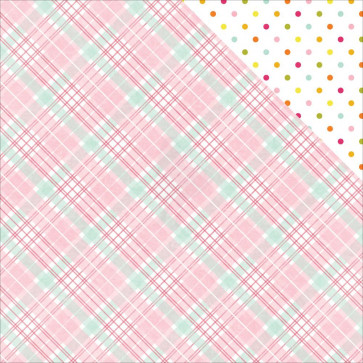"""Photo Play Paper Bloom Double-Sided Cardstock 12x12"""" Puddle"""