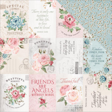 "KaiserCraft Rose Avenue Double-Sided Cardstock 12x12"" Homestead"