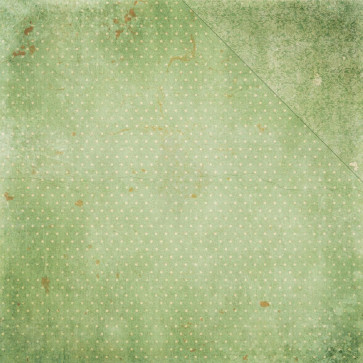 """BoBunny Double Dot Vintage Double-Sided Cardstock 12x12"""" - Sweet Pear"""