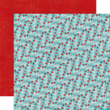 """Echo Park A Perfect Winter Double-Sided Cardstock 12x12"""" - Winter Berries"""