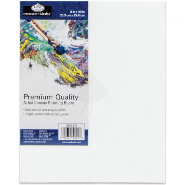 Essentials™ Premium Canvas Board 8x10""