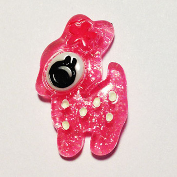 Resin Bambi Hot Pink