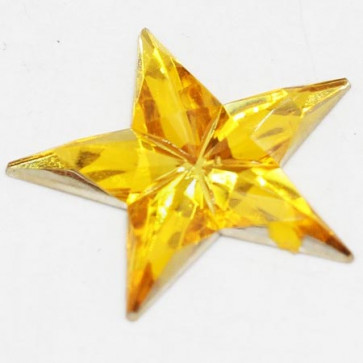 Acrylic Big Size Star 31mm - Golden