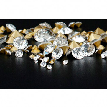 Beyond Visions Clear Czech Crystal Cone Rhinsten 3mm