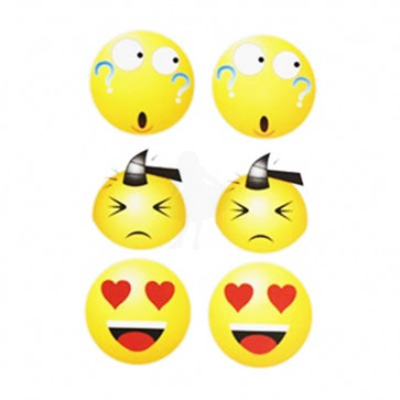 Emoji Face Stickers - Smiley 2