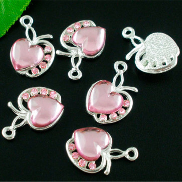 Beyond Visions Metal Pynt Charms - Apple Of My Heart