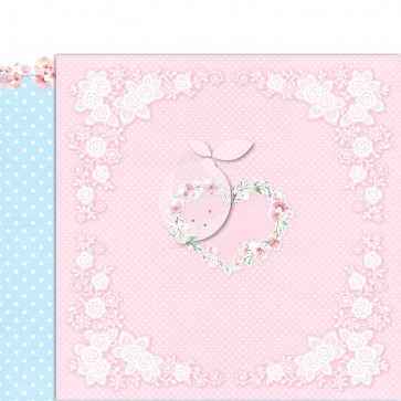 """LemonCraft 12x12"""" Double-Sided Scrapbooking Paper Girl's Little World 2"""