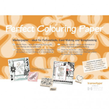Copic A4 Perfect Colouring Paper White 1 STK