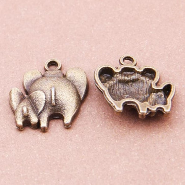Beyond Visions Metal Pynt Charms - Elefant