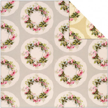 "Anna Griffin Camilla Double-Sided Cardstock 12x12"" - Wreath"