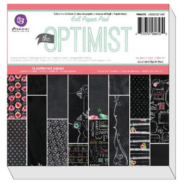 "Prima Marketing Paper Pad 6x6"" - The Optimist TASTER"