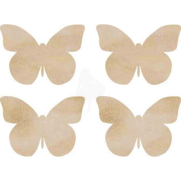 KaiserCraft Wooden Flourishes - Butterflies