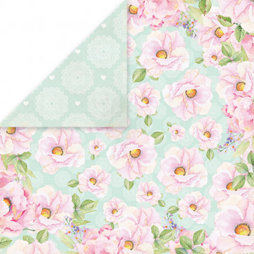 """Craft & You Design Double-Sided Cardstock 12x12"""" - Bird Song 06"""