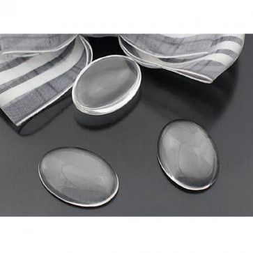Glas Cabochons 18x13mm - Oval