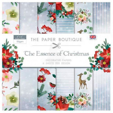 "The Paper Boutique 6x6"" Paperpad The Essence Of Christmas TASTER"