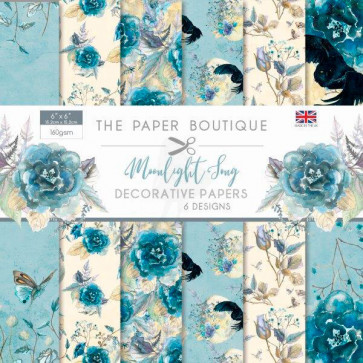 """The Paper Boutique 6x6"""" Paperpad Moonlight Song TASTER"""