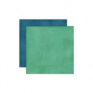 "Echo Park All About a Boy Dobbelsidet Cardstock 12x12"" - Green/Dark Teal"