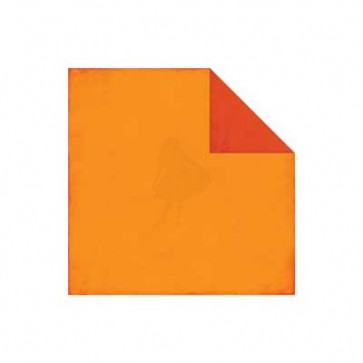 "Echo Park All About a Boy Dobbelsidet Cardstock 12x12"" - Orange/Red"