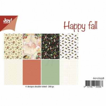 Joy Papirblok A4 Happy Fall TASTER