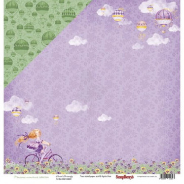 "ScrapBerry's Precious Memories Double-Sided Cardstock 12x12"" Sweet Serenity"