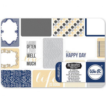 "WRMK Journal Cards 4x6"" Pad - Hello Life TASTER"