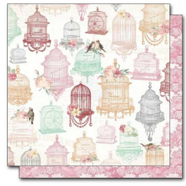 """BoBunny Madeleine Double-Sided Cardstock 12x12"""" - Exquisite"""