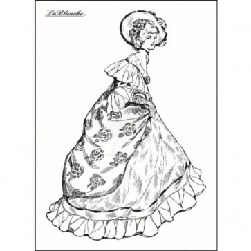 LaBlanche Silicone Stamp - Lady