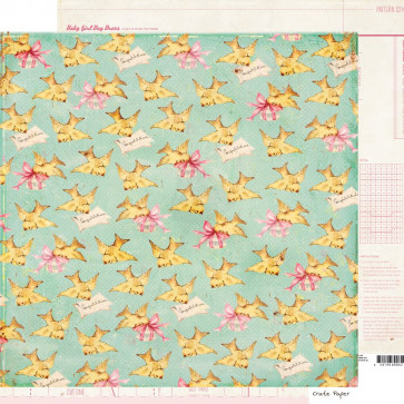 """Crate Paper Little Bo Peep Double-Sided Cardstock 12x12"""" - Adelaide"""