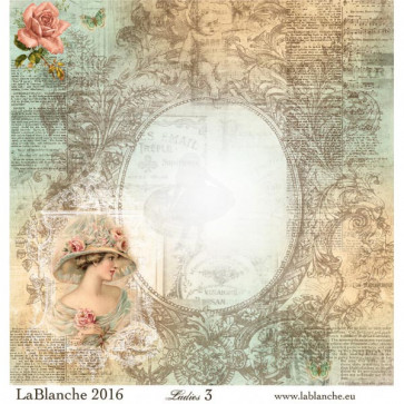 """LaBlanche Papers """"Ladies"""" 3"""