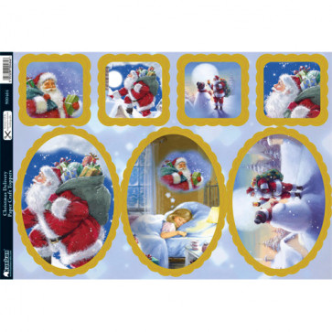 Kanban A4 Paper Craft Toppers - Christmas Delivery