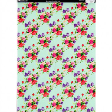 A4 Kanban Background Card - Chintzy Florals