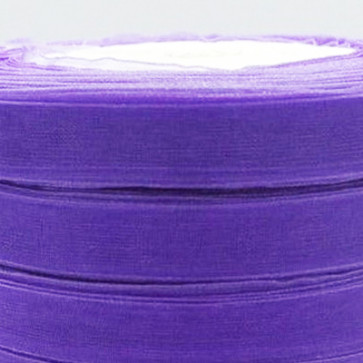 9mm Organza Sløjfebånd 10 m - Light Purple