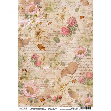 Ciao Bella Rice Paper Sheet A4 Inexhaustible Source Of Magic, The Muse