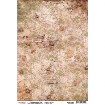 Ciao Bella Rice Paper Sheet A4 Fly Cover, The Muse