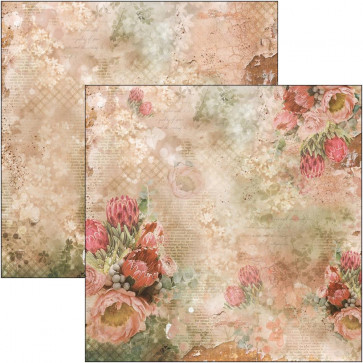 """Ciao Bella Double-Sided Cardstock 90lb 12x12"""" The Muse, Protea"""