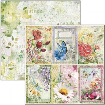 """Ciao Bella Double-Sided Cardstock 12x12"""" Microcosmos Cards"""