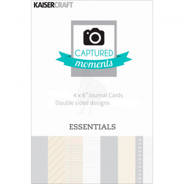 "KaiserCraft Captured Moments Double-Sided Cards 6x4"" - Essentials TASTER"