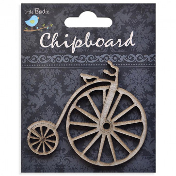 Little Birdie Chipboard Bicycle (Vintage)1Pcs