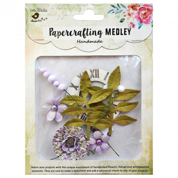 Little Birdie Paper Crafting Medley - Stella 10pcs