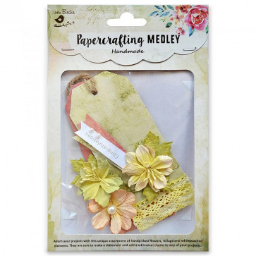 Little Birdie Paper Crafting Medley - Atiya 6pcs