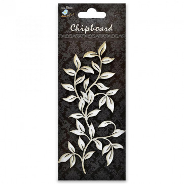 Little Birdie Chipboard Leaf Vine 1Pcs