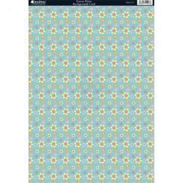 Kanban A4 Background Card - Easter Ditsy