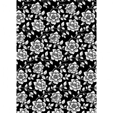 Kanban A4 Background Card - Floral White